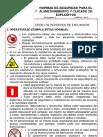 Normas Para El Almacenamiento de Explosivos Rev5