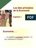 Los 10 Principios de Economia