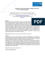 Caracterización y afectación de contaminación acústica