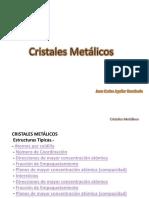 Cristales Metálicos II