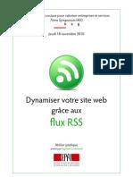 Dynamiser son site web grâce aux flux RSS