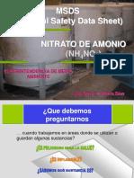 Curso Msds (Nh4no3) PDF