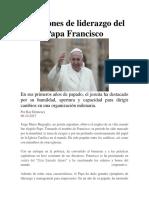 7 lecciones de liderazgo del Papa Francisco.docx