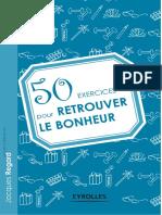 50 Exercices Pour Retrouver Le Bonheur - Eyrolles
