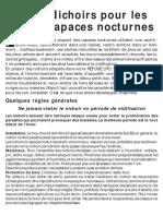 Nichoir Nocturne