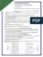 Cuestionario Resuelto de Matematica - Tercer de Bachillerato