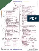 Uppsc Preliminary General Studies Question Paper 1 2017