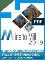Mine to Mill - Optimizacion avanzada - InterMet 2019