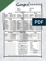 V20 2-Page Elder Gangrel Interactive