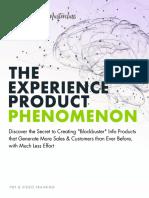 Experience Product Phenomenon