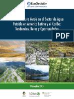 Infraestructura Verde en el sector del agua potable