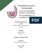 Informe de Informática