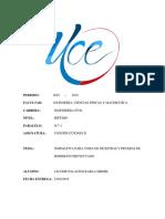 Deber 6 - Normativa Para Pruebas de Hormigon Proyectado - Copia