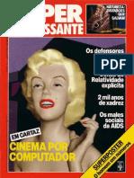 Revista Superinteressante - Ed.010 - 198807 - Em Cartaz - Cinema No Computador
