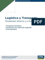 Programa Logistica y Transporte Mad
