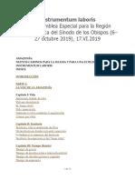 Asamblea Especial para la Región Panamazónica