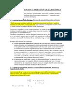 Leyes de Newton o Principios de La Dinamica