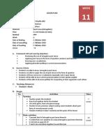 Lesson plan grammar (Cambridge curriculum)