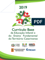 Currículo Base SC - Ed. Infantil e Ens. Fundamental