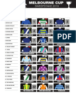 Melbourne Cup Sweepstake 2019