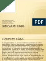 Generacion Eólica