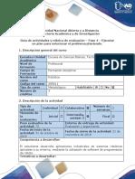 Guía de Actividades y Rúbrica de Evaluación Fase 4 Ejecutar Un Plan Para Solucionar El Problema Planteado