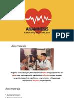 Anamnesis Vital Sign