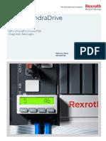 錯誤訊息Diagnostic Messages_MPx-16 to MPx-20 & PSB_R911326738_10