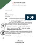 Oficio de Inicio de Comunicación de La Desviación, Notificación, Edicto