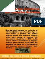 PPT DERECHO ROMANO