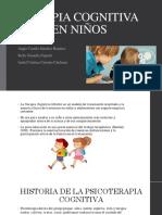 Terapia cognitiva en niños