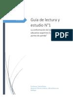 Análisis de la formación del estado argentino