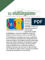Trabajo Del Multilinguismo