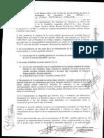 Acuerdo Suma Fija No Remunerativa 01-03-16