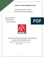 Bharti Minor Project Report