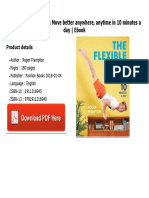 The Flexible Body Move Better Anywhere Anytime