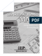Lifeskill in math
