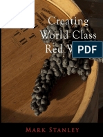 Creating World Class Red Wine