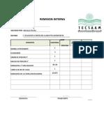 Adm Fo 001 Formato Remisión Interna Estrella