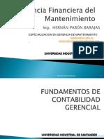 GERENCIA FINANCIERA DEL MANTENIMIENTO