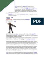 Optional Characters FFVII