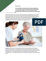 Perawatan Pasien Hipertendi Di Rumah