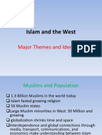 General Themes, Islam and the West.ppt