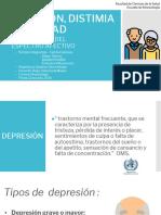 Depresión, Distimia y Ansiedad