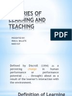 THEORIES OF LEARNING AND TEACHING.pptx