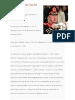 Biografía Augusto Pinochet