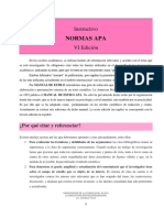 Instructivo Normas Apa 2019 Revisado Ucp