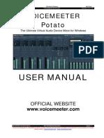VoicemeeterPotato_UserManual