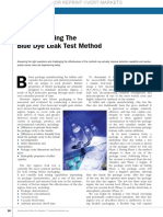 Deconstructing the Blue Dye Leak Test Article 4.2012