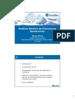 7.- 20170321 Análisis Sísmico de Estructuras Geotécnicas - Denys Parra - APGEO